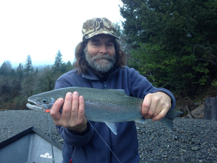 Chetco steelhead, Dec. 27.