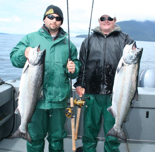 Alaska king salmon fishing Wild Rivers Fishing