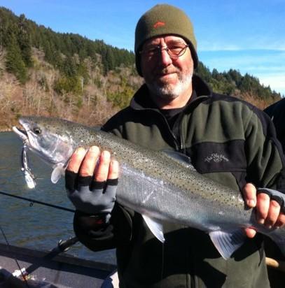 Chetco river fishing reports rogue river fishing reports for Smith river fishing report