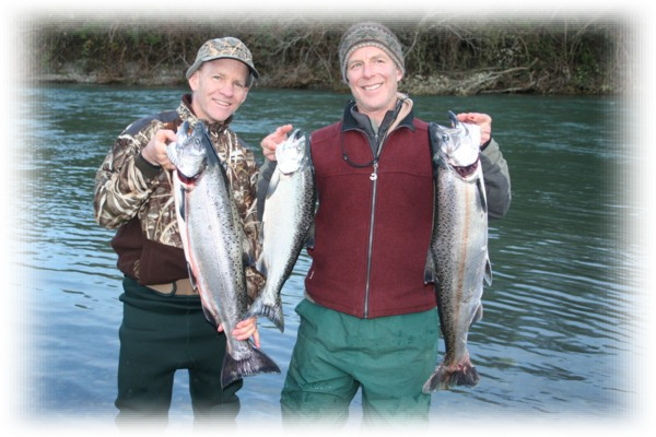 Elk and Sixes River Salmon and Steelhead Fishing Trips.