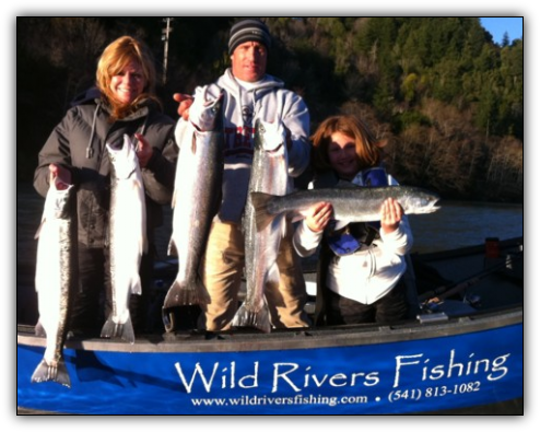 Chetco River steelhead fishing guides Brookings, Oregon