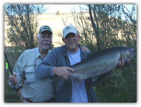 Hornbrook California salmon fishing Klamath River