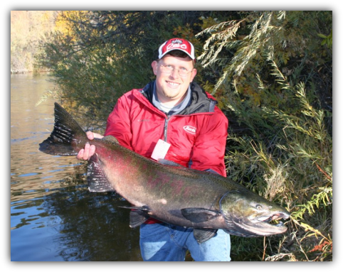 Klamath River salmon fishing trips