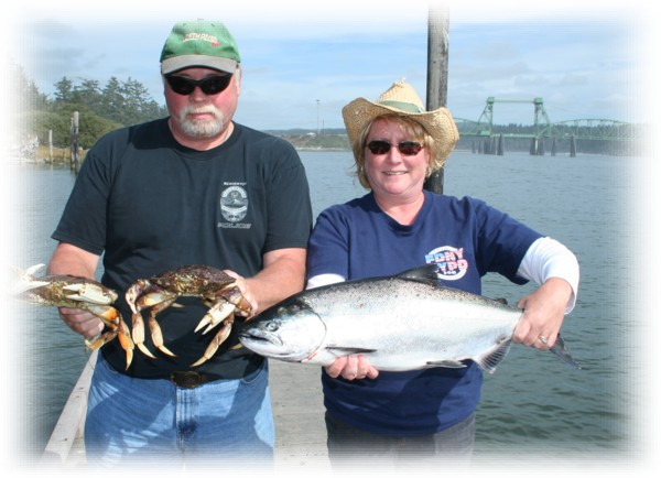 Coquille River and Bay and Coos Bay Guided Salmon and Steelhead Trips.