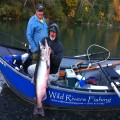 42 pound Chetco River king caught by Roland Robertson in 2010 season.