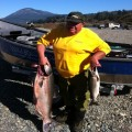 George with a pair of Chetco kings.